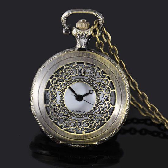 kapesní hodinky - cibule - bronzové 215f470d73