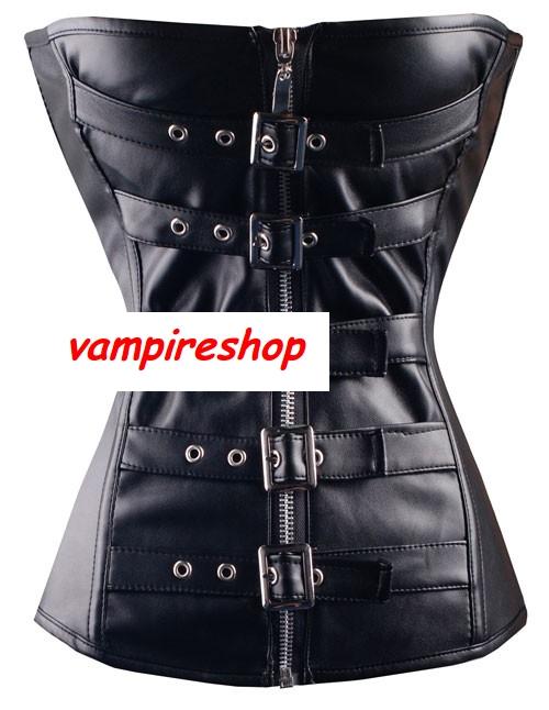 kůže gothic korzet -Bondáž - vampire 2d99795233