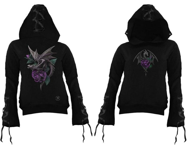 Spiral Direct Dragon Beauty gothic dámská mikina - vampire 3443ae054e